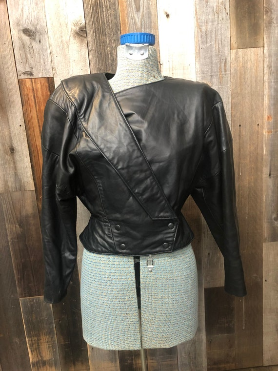 Size 3/4 Michael Hoban NORTH BEACH LEATHER Jacket