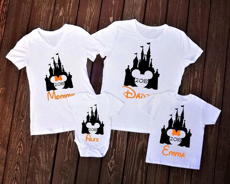Disney Halloween Shirts 2019.Disney Halloween Shirts 2019 Diy Iron On Make Matching Disney Family Vacation Shirts Iron On Decal Only