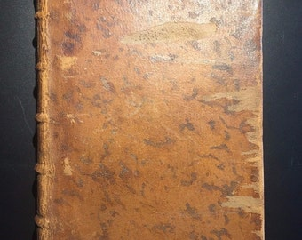 Voyage du Jeune Anacharsis en Grece, Jean-Jacques Barthelemy, Vol I, French, 1790