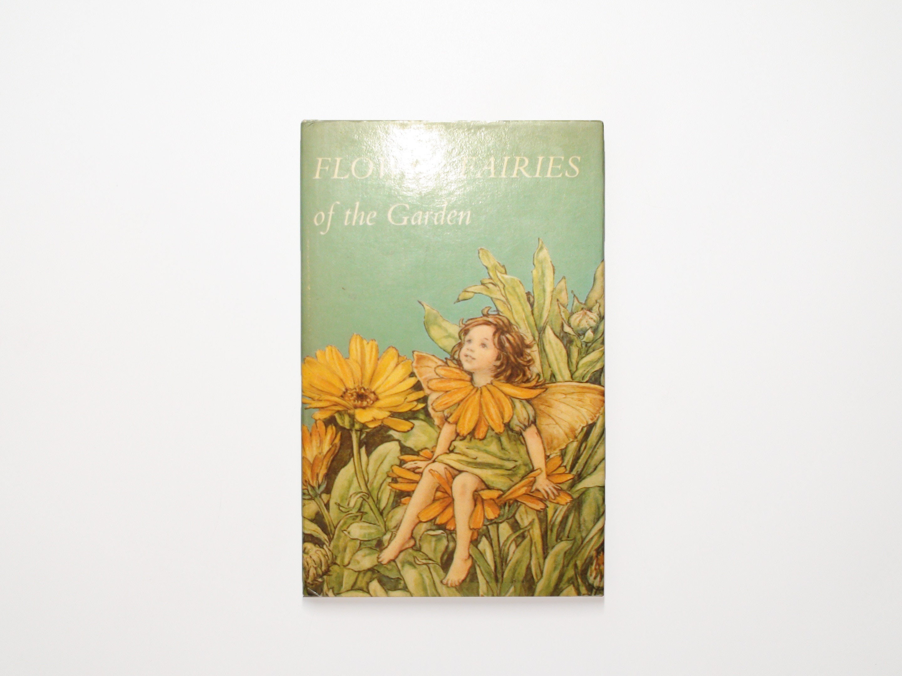 flower fairies of the garden, by cicely mary barker, illustrated, 1st ed w  dj