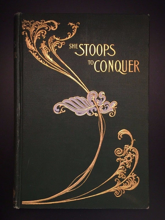 She Stoops To Conquer A Play By Oliver Goldsmith Etsy