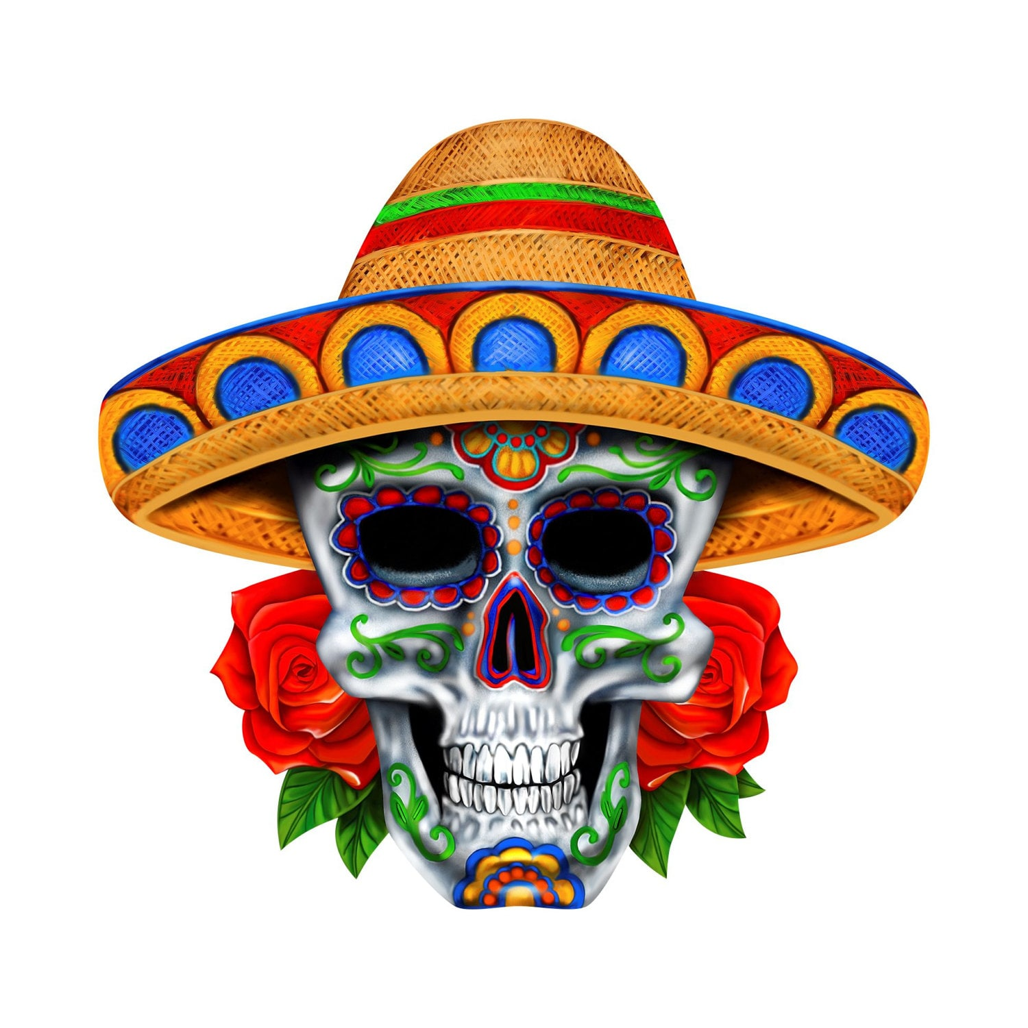 Decal Sombrero