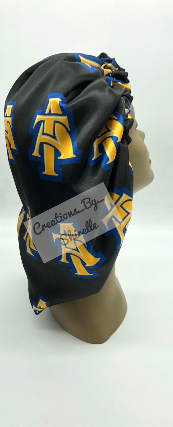 North Carolina A/&T satin pillowcase pillowcases and King Size Available in Standard AGGIE DOG Queen satin Ayantee NCATSU