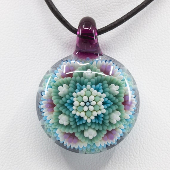 Dot Mandala Pendant