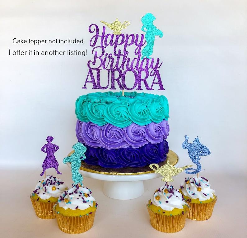 Jasmine cake topper Princess Jasmine Aladdin cake topper ...