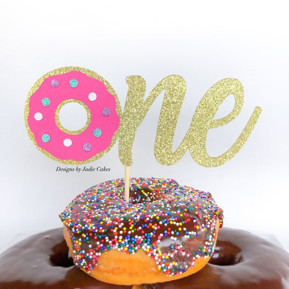 Amazing Donut Cake Topper Donut Birthday Donut Grow Up Donut Etsy Personalised Birthday Cards Rectzonderlifede
