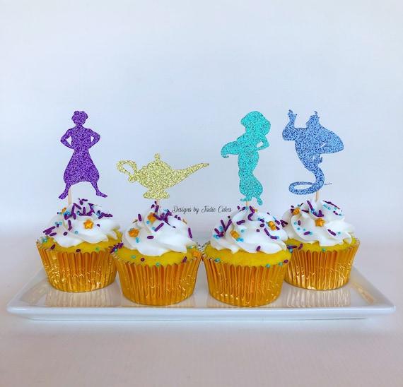 Jasmine Cake Topper Princess Jasmine Aladdin Cake Topper Etsy