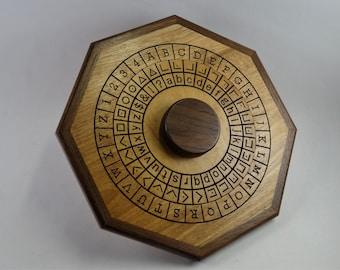 Cipher Wheel - Symbol and English