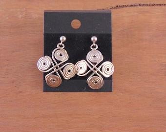 Four Circles Earrings
