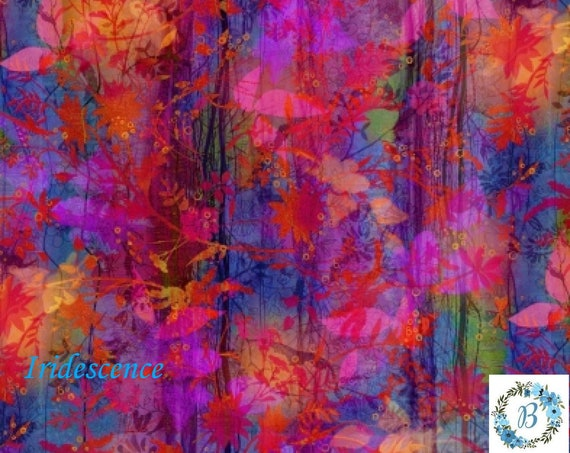 Iridescent fabric in Stock.  Enjoy