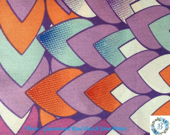 VLISCO - Made and Printed in Holland Guaranteed Veritable Real Dutch Print