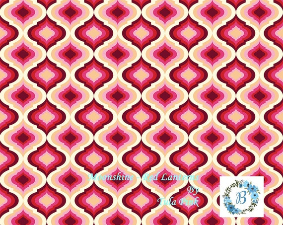 WOW! Eve, here is your listing: Moonshine - Red Lanterns by Tula Pink for Free Spirit Half Metre Cuts from the Bolt