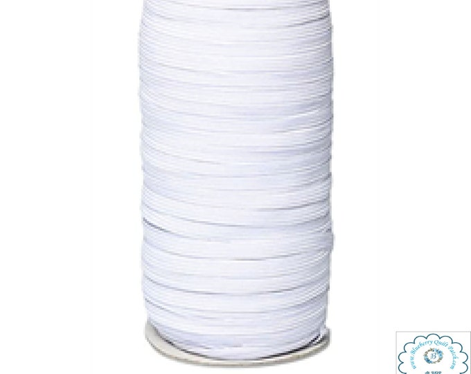 5 Metres IN STOCK 5 - Elastic 1/4 inch for use in masks