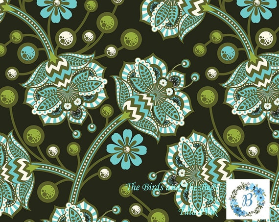 The Birds and the Bees - Forest by Tula Pink for Free Spirit Half Metre Cuts from the Bolt