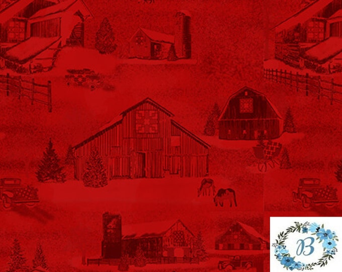 HOLIDAY HEARTLAND - FABRIC buy the metre