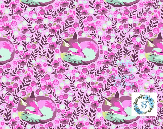 Chipper - FOX NAP by Tula Pink for Free Spirit Half Metre Cuts from the Bolt