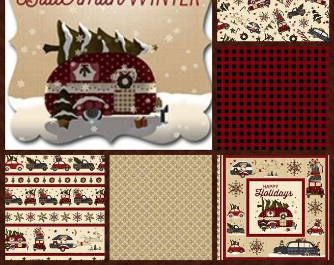 Buttermilk Winter by  Buttermilk Basin for Henry Glass Enjoy the Feeling of warmth and Contentment with a Quilt in this Gorgeous fabric.