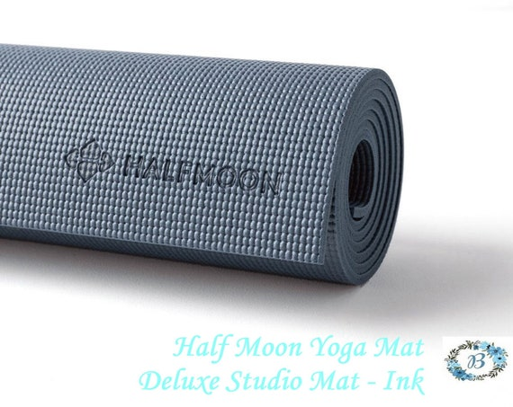 YOGA MAT accessory for your Yoga Practice or your Home Studio  - Half Moon - Bring out the Yogi in You.
