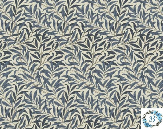 MORRIS and Co. Willow Boughs Navy The Original Morris & Co.,  Be a part of the Arts and Crafts Movement Today