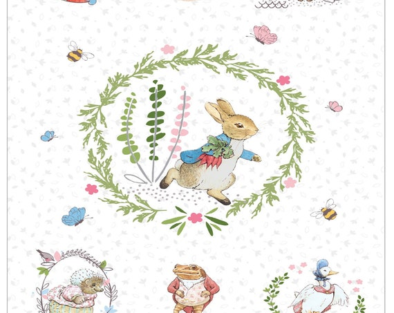 Quilt Top Kit with Pattern - Peter Rabbit (New & Digital) - 3 Colorways to choose from.