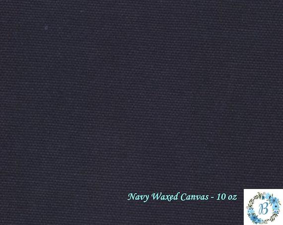 WAXED CANVAS - Cotton Duck Navy 10 OZ