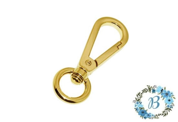 BQP Swivel Clasps - 8mm - Ideal for decorative bling on your bag or with chain attached.