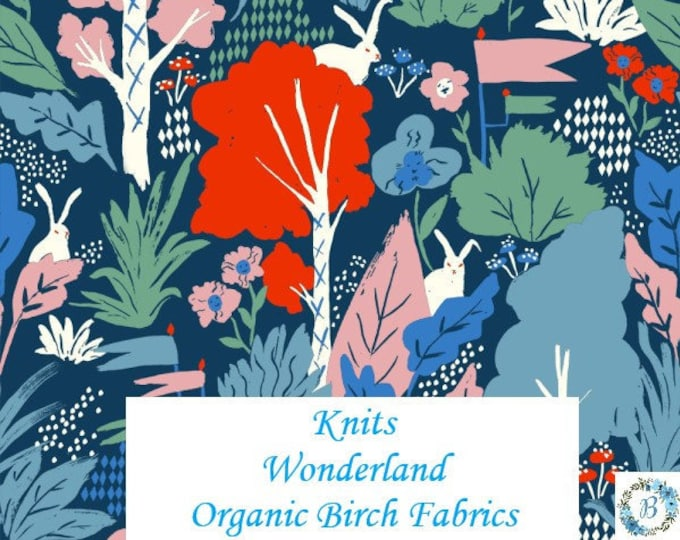 Birch Fabrics, Organic Knit Wonderland