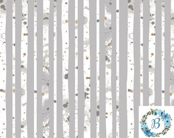 Blithe - Glacier Path Silver - by Katarina Roccella for Art Gallery Fabrics