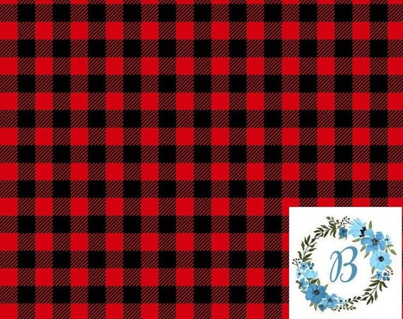 Canadian Eh! Buffalo Plaid