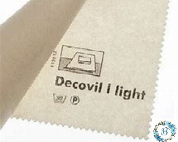 BULK  CUTS & wide widths  (Vlieseline Decovil (Light) - Ideal for BAG and Wallet making.
