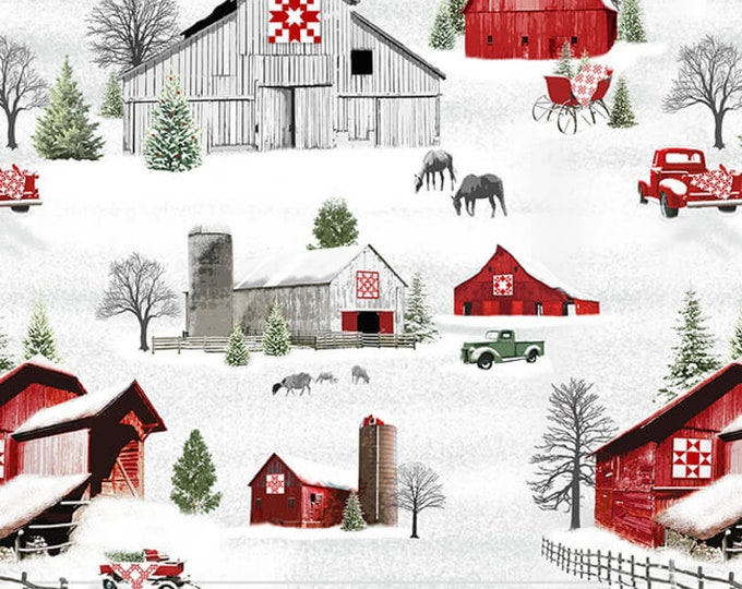 HOLIDAY HEARTLAND - FABRIC buy the metre or Ask about a kit
