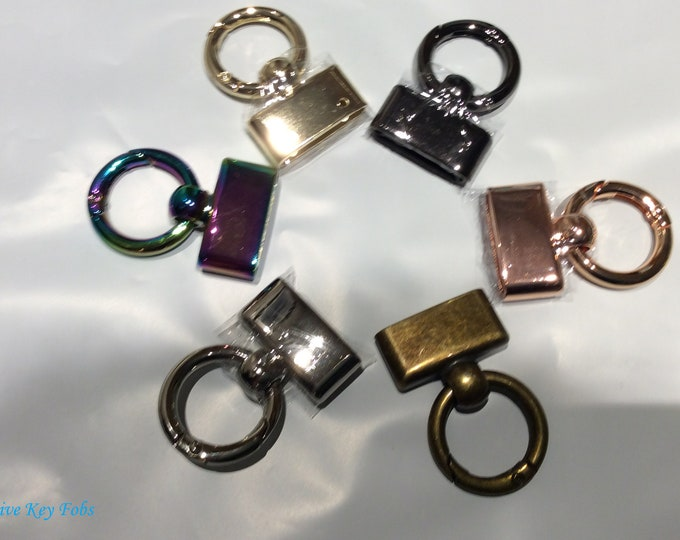 Decorative Key Fobs for Bag Making and Meraki Key Pouches