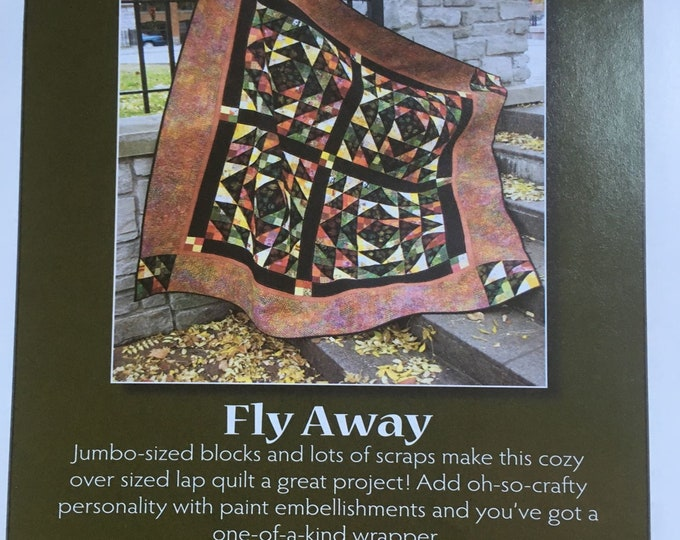 ON SALE - Fly Away - Pattern by Scrap Therapy