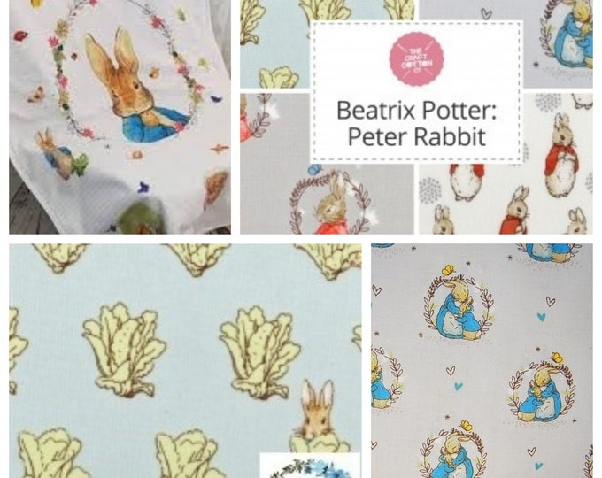FQ Bundle includes 5 different Prints - Peter Rabbit Collection