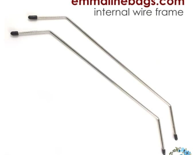 EMMALINE BAG HARDWARE - Internal Wire Frame - Style A (1 pair)