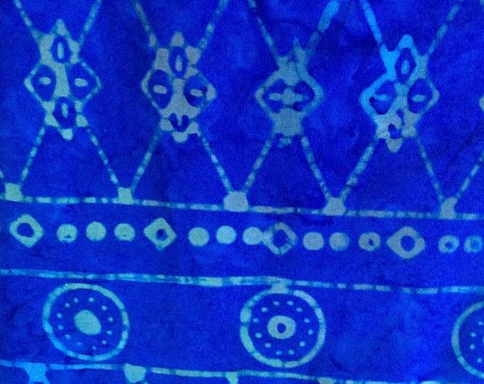 Celestial Blue Aztec Batik