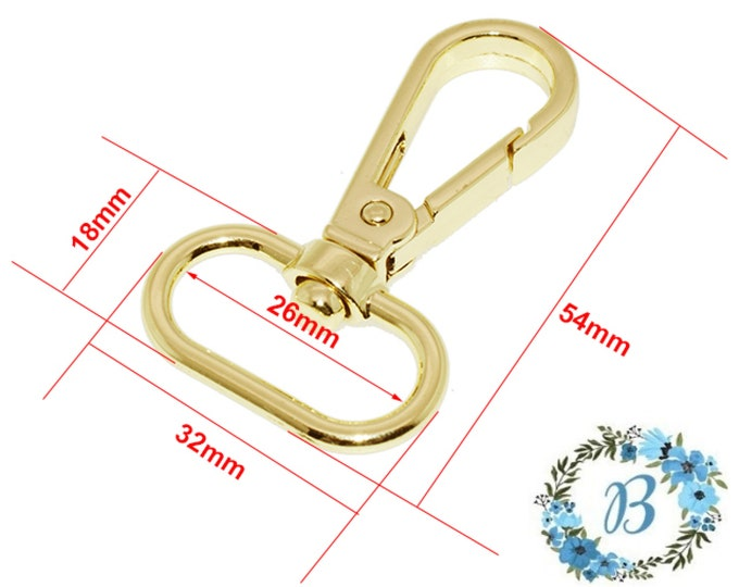 BQP Swivel Clasps - Ideal for bag making