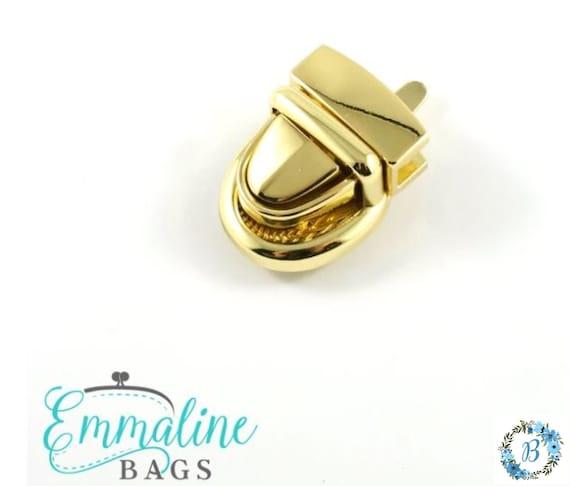 BABY PRESS LOCK Emmaline Bag Hardware Baby Press Lock (1 Pack)  - Various Colors