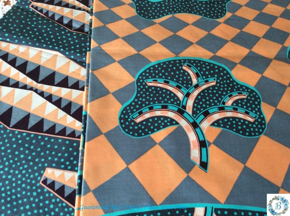 VLISCO - Made and Printed in Holland Guaranteed Real Dutch Java Print