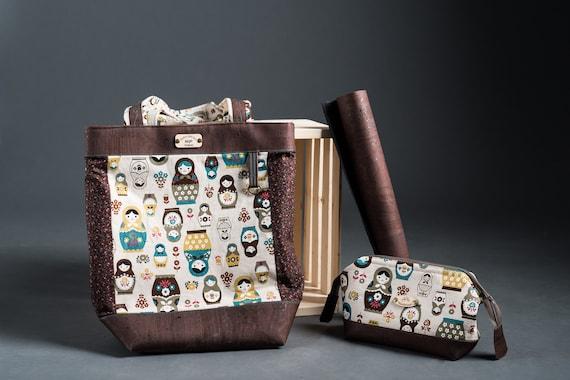 BQP Original Tote Bag - Designed Especially for You By Debra Caughell of Blueberry Quilt Patch