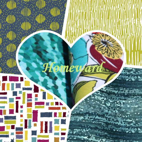 Homeward - designed by Natalie Barnes for Windham Fabrics - Let's create