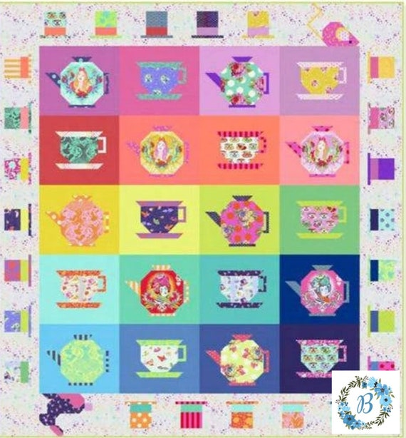 TULA TEA PARTY - Complete Kit in stock and ready to ship Especially for you. No Longer available to order from manufacturer