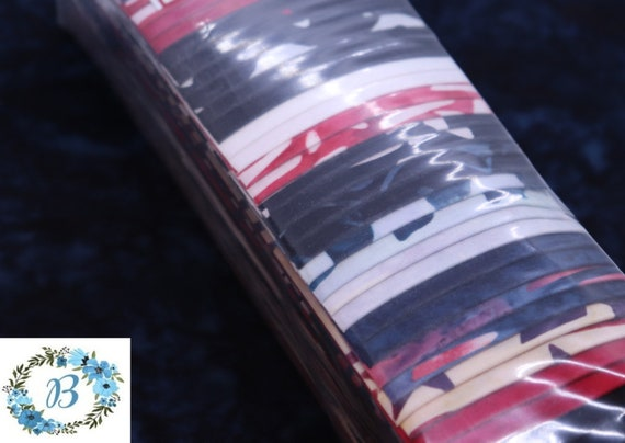 USA STRIP SET -  in Red White & Blue Americana. Celebrate July 4th with a New Quilt Creation that Shows your Patriotism