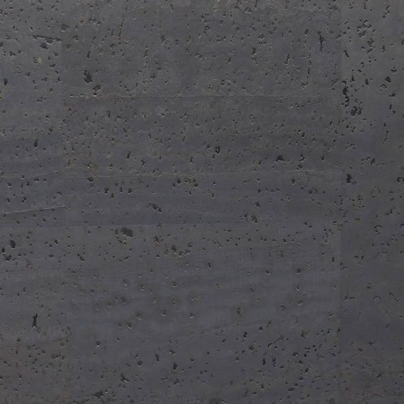 Surface Charcoal Gray Cork Fabric