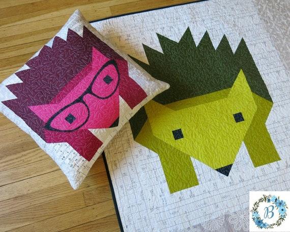 HAZEL HEDGEHOG II quilt pattern - Pattern by Elizabeth Hartman
