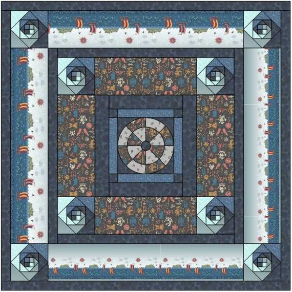 Quilt Kit-Viking Adventures By Lewis and Irene. Enjoy your sewing journey with the Viking Adventure kit with free pattern.