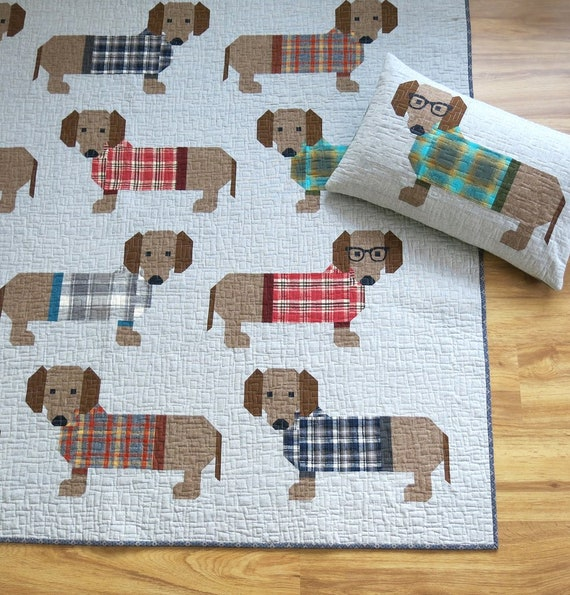 DOGS IN SWEATERS - Pattern by Elizabeth Hartman