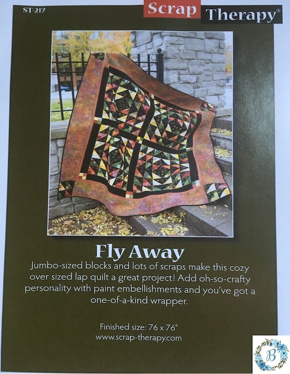 FLY AWAY - Pattern by Scrap Therapy