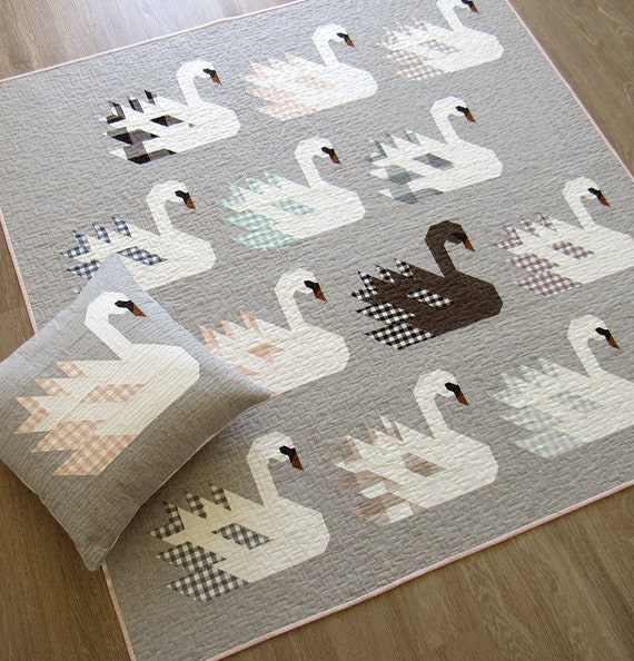 SWAN ISLAND - Pattern by Elizabeth Hartman