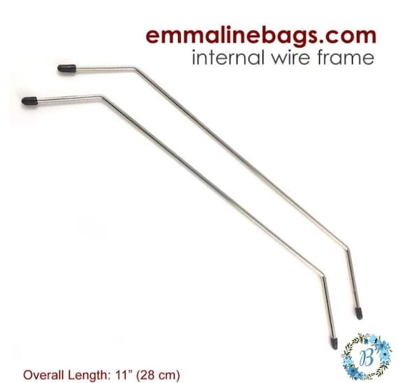 EMMALINE BAG HARDWARE - Internal Wire Frame - Style A (1 pair)